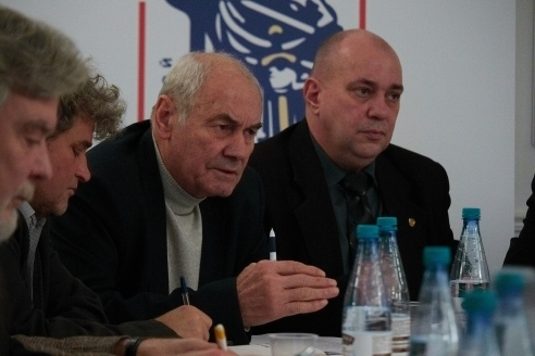 Л.Г.Ивашов и Д.А.Сурмило, 8 ноября 2017 года