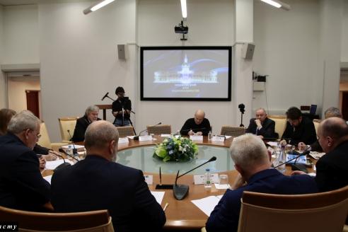 Московский дом национальностей, 1 ноября 2017 года