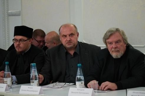 Дьякои И.Маслов, Л.В.Фокин, В.Е.Бочаров, 8 ноября 2017 года
