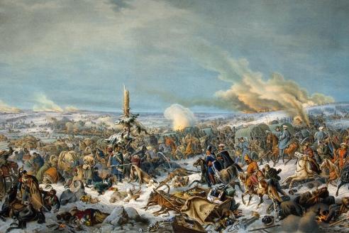«Отступление  французов через  реку Березину  17 (29) ноября 1812 г.» П. Гесс