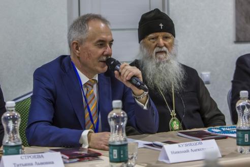 Н.А. Кузнецов и Архиепископ Женевский и Западно-Европейский Михаил (Донсков)