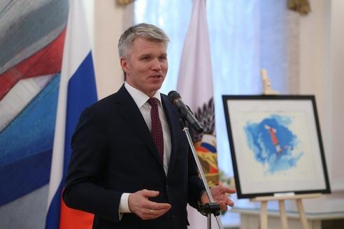Министр спорта РФ П. Колобков, 25 января 2018 года