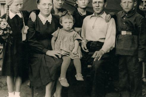 Семейное фото. 1955 г.