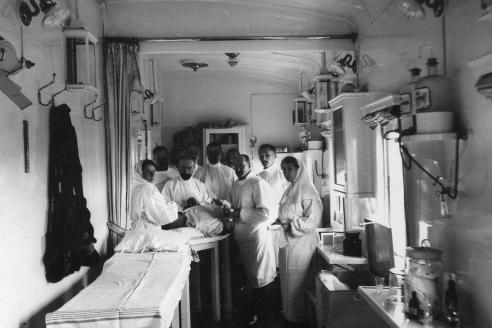 Санитарный поезд великой княжны Ольги Николаевны 1914-1917 гг.
