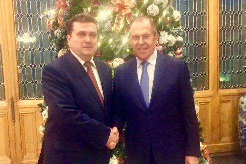 С С. В. Лавровым