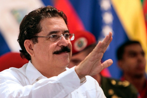 Президент Гондураса Мануэль Селайя, свергнутый в ходе военного переворота