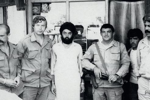 Н. Ковалёв в Афганистане