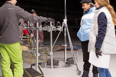 Съёмки документально- постановочного фильма «Стать чемпионом 3: Забег». 2017 г.