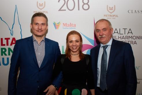 Генеральный директор МР Н.А. Кузнецов с продюсерами мероприятия, 28 февраля 2018 года