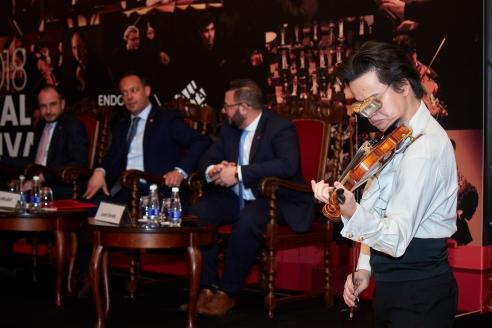Пресс-конференции, посвящённая презентации VI Мальтийского Международного музыкального фестиваля, 28 февраля 2018 года