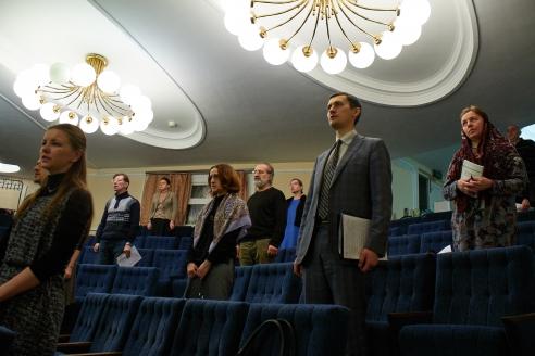 Открытие христианского лектория «Василиада», 27 декабря 2017 года