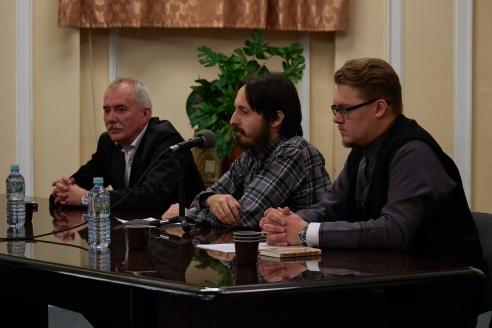 Н.Кузнецов, И.Вевюрко, И.Маслов, 27 декабря 2017 года