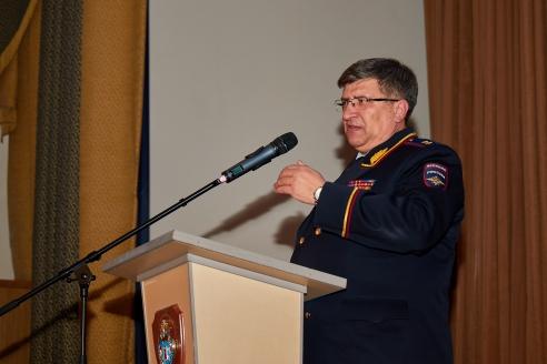 Начальник Московского университета МВД России имени В.Я. Кикотя генерал-лейтенант полиции И.А. Калиниченко, 20 февраля 2018 года