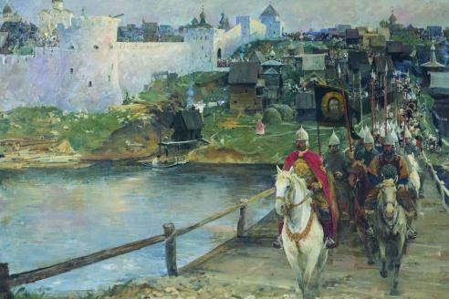 «К полю Куликову». Е.И. Данилевский