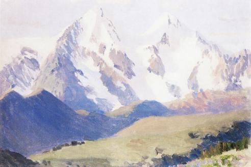 «Гора Белуха». Г.И. Гуркин