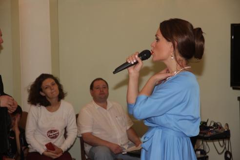 Мастер-класс «Тайна моего голоса», Анна Зайцева
