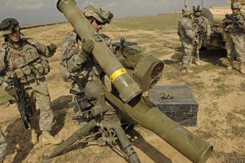 Тяжёлый ПТРК BGM-71 TOW. США