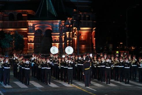 Международный военно-музыкальный фестиваль «Спасская башня» в Москве