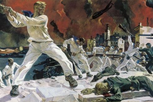«Оборона Севастополя». 1942 г. А.А. Дейнека