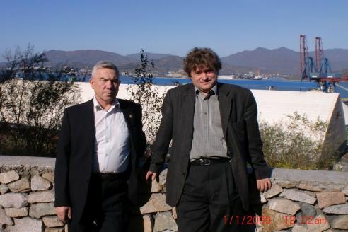 И.Шумейко и адвокат г. Находки П.Шепчугов