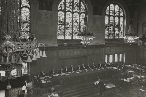 Слушания Международного суда