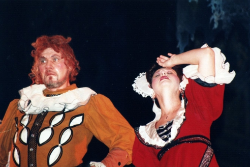 "У. Шекспир. ""Ночь"". Сэр Торби - А. Цилинко, Мария - О. Толоконникова"