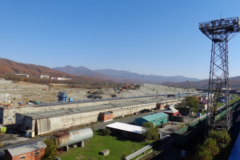 В бухте Врангеля проходит уголь Кузбасса