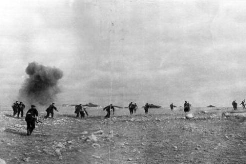 Атака черноморцев. Севастополь. 1941 г.