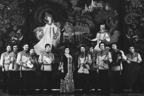 """Л.Г. Зыкина и ансамбль """"Россия». 1978 г."""