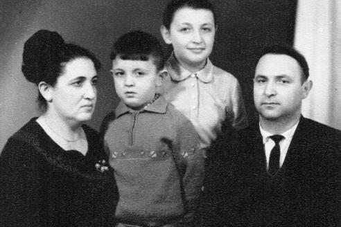 Семья Золотовицких
