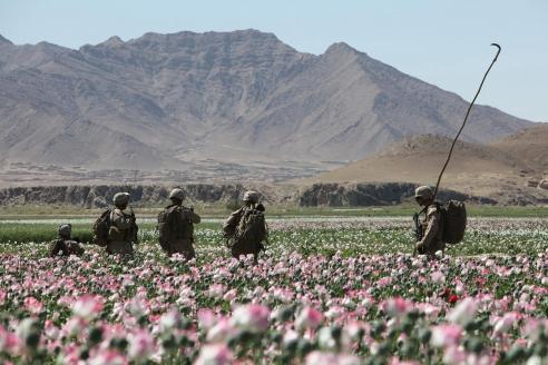 Американские войска в Афганистане