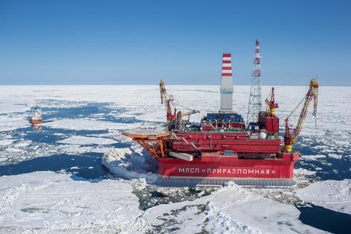 Добыча арктической шельфовой нефти в России