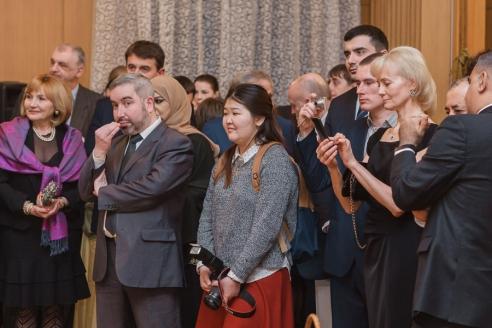 Приём в Посольстве Республики Сербия в РФ, 15 февраля 2017 года