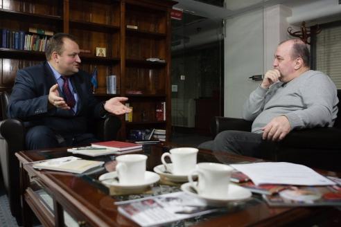Н.Н. Мишустин в редакции МР, 10 ноября 2016 года