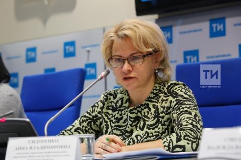 Анна Сидоренко, начальник управления профобразования Министерства образования и науки Республики Татарстан