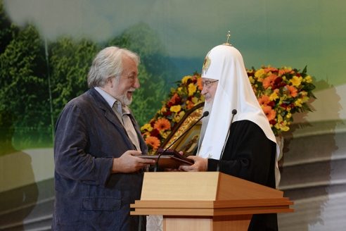 Лауреат Патриаршей литературной премии 2015 года - Юрий Кублановский