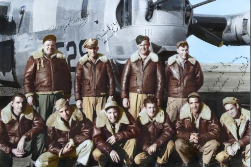 Американские лётчики. 1944 г.