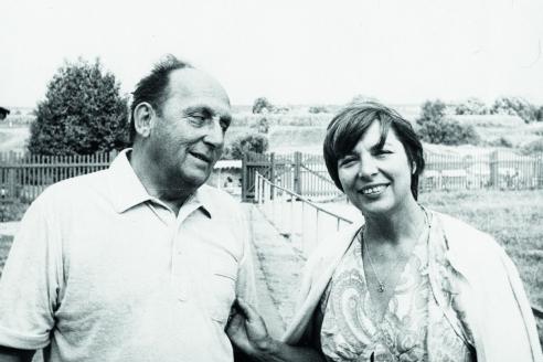 Родители: Г.А. Арбатов и С.П. Арбатова. Подмосковье. 1980 г.