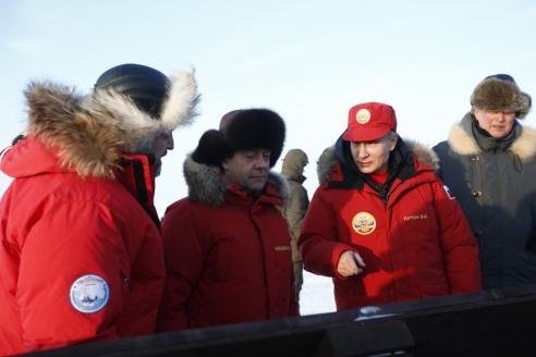 Рабочая поездка президента РФ  В. Путина  в Архангельскую область