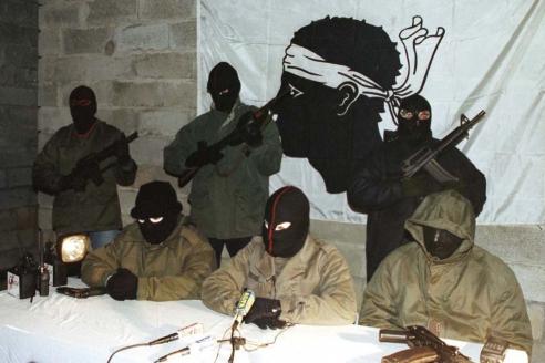Сепаратисты «Фронта национального освобождения Корсики»