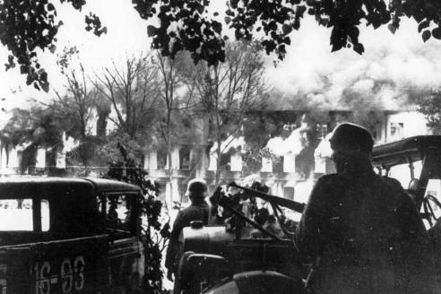 Немецкие войска в Смоленске. Август 1941 г.
