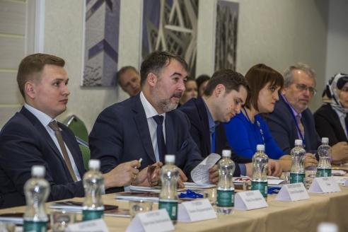"""Участники конференции """"Инвестиционный климат Крыма"""".  17 февраля 2017 г."""
