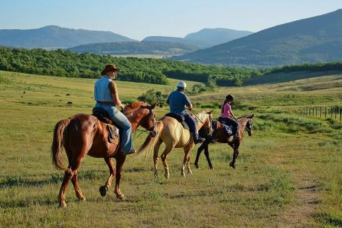 Конные прогулки по горному Крыму