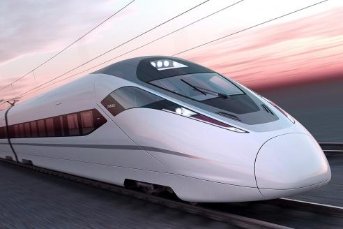 Высокоскоростной пассажирский поезд Zefiro
