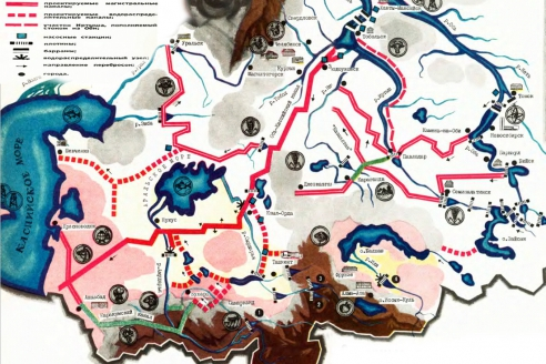 Проект поворота северных рек