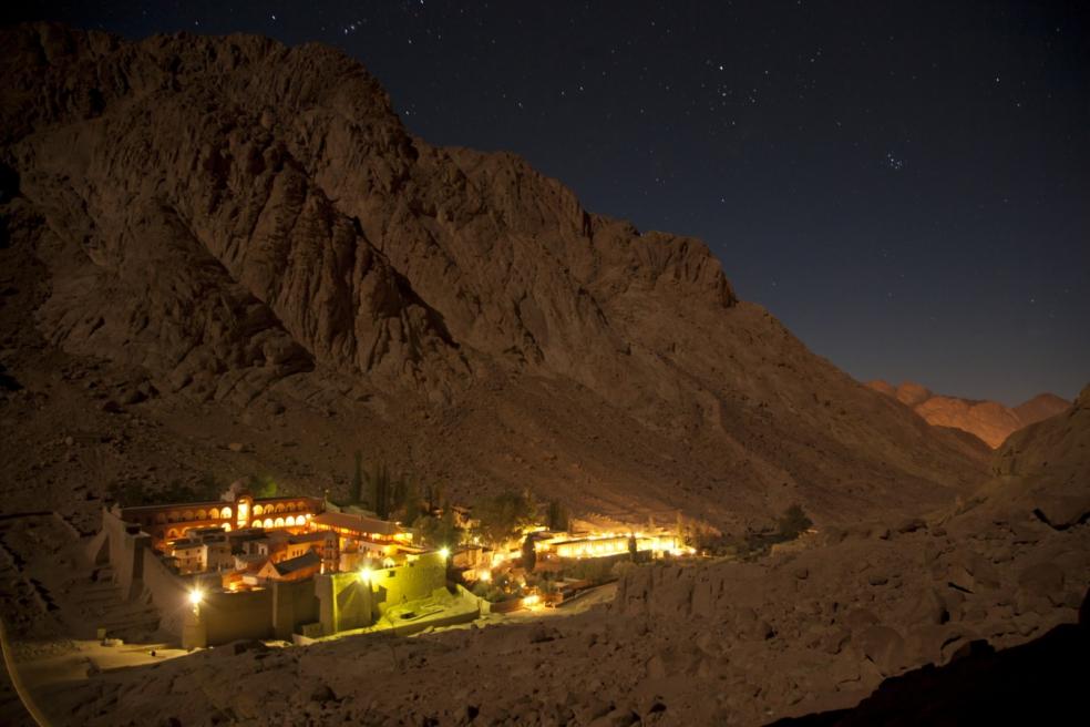 Панорама Синайского  монастыря