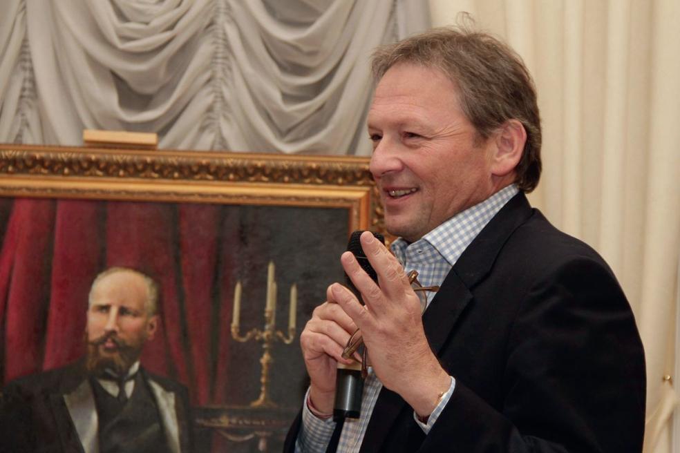 Б. Титов представляет программу «Экономика роста» на заседании Столыпинского клуба