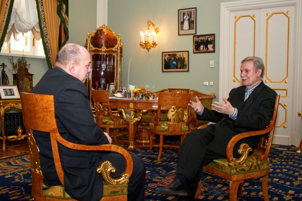 Ю.М. Соломин и Д.А. Сурмило, 3 марта 2018 года