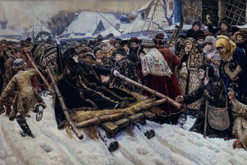 «Боярыня Морозова». В.И. Суриков