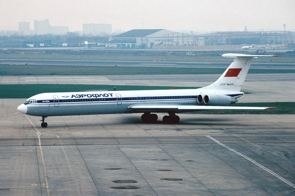 Пассажирский авиалайнер Ил-62М, борт СССР-86470